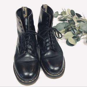 classic vintage black Dr Martens